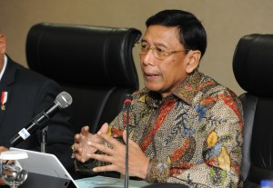 Menko Polhukam Wiranto (Foto: JAY/Humas)