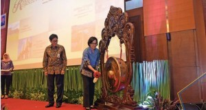 Finance Minister Sri Mulyani opens Directorate General of State Assets Management's National Working Meeting, at Djuanda Hall, Finance Ministry, Jakarta.