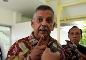 Direktur Utama PT. PLN (Persero) Sofyan Basir di Kantor Presiden, Selasa (1/11). (Foto: Humas/Rahmat)