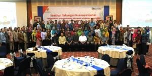 Peserta Seminar Hubungan Kemasyarakatan Bakohumas (8/11)