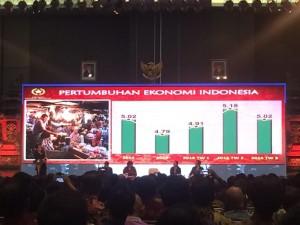 Sosialisasi Program Pengampunan Pajak atau Tax Amnesty periode kedua, di Pecatu Hall BNDCC, Nusa Dua, Bali, Rabu (7/12) sore.