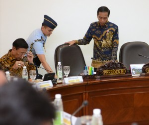 President Jokowi is about to lead a Limited Meeting on Thursday (29/12), at the Presidential Office, Jakarta