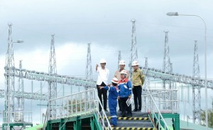 President Jokowi inspects Ulubelu Geothermal Power Plant (PLTP) Unit 3 on Tuesday (27/12), in Tompaso Subdistrict, Minahasa Regency