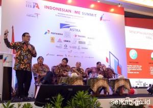 Seskab Pramono Anung pada acara Indonesianisme Summit 2016, Sabtu (10/12). (Foto: Humas/Jay)