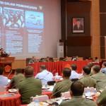 Rapat Pimpinan (Rapim) TNI Tahun 2017, di aula Gatot Subroto, Mabes TNI Cilangkap