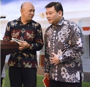 epala Staf Kepresidenan menyampaikan keterangan pers kepada wartawan usai Rapat Terbatas, di Kantor Presiden, Jakarta, Rabu (11/1) sore. (Foto: Humas/Jay)