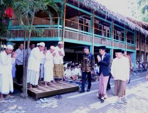 Pondok Pesantren At-Taufiqy yang berada di Desa Rowokembu, Kecamatan Wonopringgo, Kabupaten Pekalongan, Jateng, Minggu (8/1) pagi.