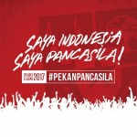 the logo of the Pancasila Week campaign