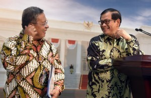 Cabinet Secretary and Coordinating Minister for the Economy announce the Launching of the Economic Policy Package XV on Tuesday (15/6), at the Presidential Office, Jakarta