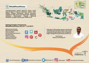 Infografis Program Mudik Penuh Pesona Tahun 2017