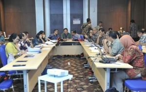 Suasana Rapat Pleno Reformasi Birokrasi Setkab di Salak Tower Hotel, Bogor, Jawa Barat, Sabtu (17/6). (Foto: Humas/Deni)