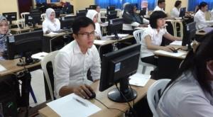 TES PEGAWAI : Sebanyak 91 orang PTT kesehatan, asal Malinau dan Nunukan mengikuti tes Calon Pegawai Negeri Sipil di Kota Tarakan belum lama ini.