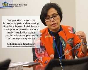 Minister of Finance Sri Mulyani (Source: Instagram account of the Minister @smindrawati)
