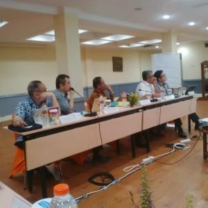 UKP PBM mengadakan FGD tentang Kajian Terhadap Proses Delimitasi Batas Maritim, di Holiday Resort, Senggigi. Lombok, NTB, Rabu (30/8)