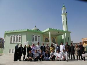 Masjid Indonesia yang akan menjadi bagian dari Indonesia Islamic Center, di Kabul, Adghanistan.
