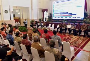 Suasana RKP yang diselenggarakan di Istana Negara, Jakarta, Selasa (24/10). (Foto: Humas/Rahmat)