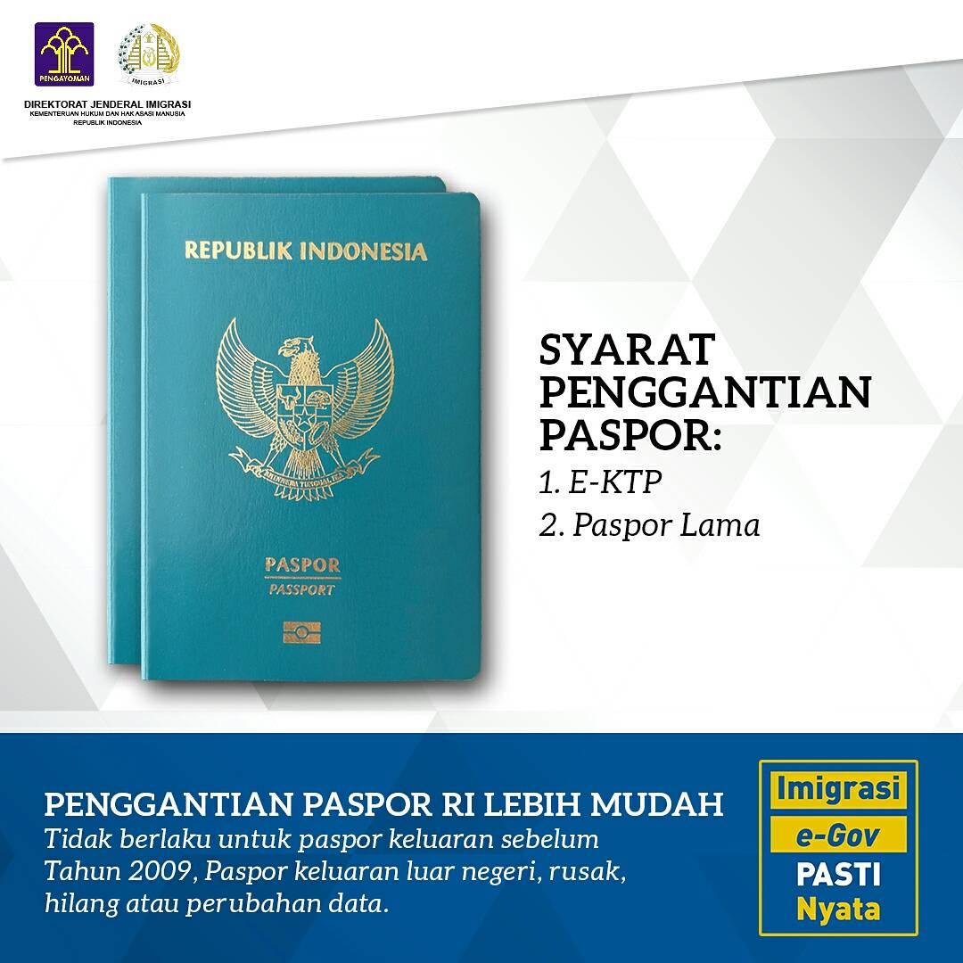 ditjen imigrasi syarat pergantian paspor hanya e ktp dan paspor rh setkab go id