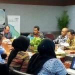 Rakor bidang publikasi, promosi, dan dokumentasi Sail Sabang 2017, di Kementerian Pariwisata, Rabu (18/10). (Foto: Humas/Nia)
