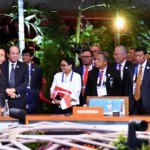 President Jokowi attends the East Asia Summit in Manila, the Philippines, Tuesday (14/11).