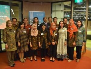 Deputy Cabinet Secretary for Cabinet Work Support, Yuli Harsono, along with 12 Participants at Monash University, Melbourne, Australia, on Thursday (2/11). (Photo: PR/Dhany)