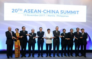 Presiden Jokowi menghadiri KTT ke-20 ASEAN-RRT, di Philippines International Convention Center (PICC), Manila, Filipina, Senin (13/11)