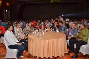 Acara penutupan SAIK Tahun 2017 di Novotel Hotel, Palembang, Sumatra Selatan, Kamis (23/11) malam. (Foto: Humas/Jay)