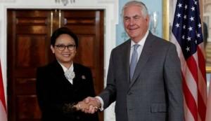 Menlu Retno bertemu Menlu AS, di Manila, Filipina, Selasa (14/11)