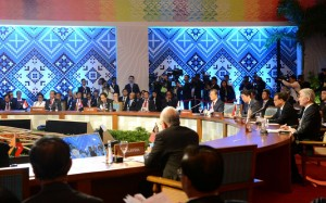 Presiden Jokowi menghadiri pertemuan ASEAN Plus Three di Manila, Filipina, Jakarta, Selasa (14/11).