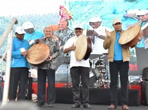 Menteri Pariwisata Arief Yahya saat membuka pameran yang merupakan rangkaian kegiatan penyelenggaran Sail Sabang 2017. (Foto: Humas/Anggun)