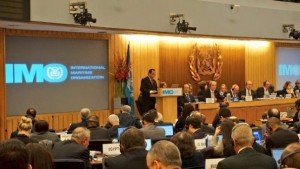 Menhub saat menyampaikan pidato pada General Statement pada Sidang ke-30 International Maritime Organization (IMO) Assembly di Kantor Pusat IMO di London, Inggris, Selasa (27/11) lalu.