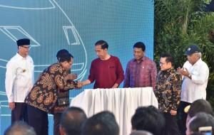 Peresmian Kereta Bandara Soekarno Hatta, 2 Januari 2018