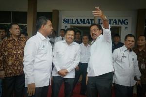 Gubernur Nurdin saat meninjau Kepri Smart Province (KSP) di Tanjungpinang, Rabu (3/1). (Foto: Humas Kepri)