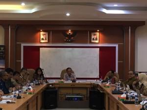 Suasana Focus Group Discussion (FGD), di Ruang Sidang Gedung H FH Undip, Semarang, Rabu (31/1) pagi.