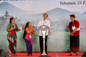 President Jokowi in Bali
