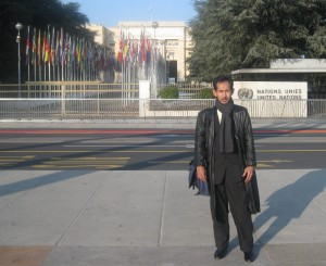 Hardyanto at the UN