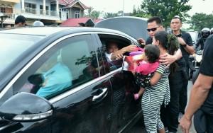 Presiden dalam rangkaian kunjungan kerja ke Sumatra Barat. (Foto: BPMI).