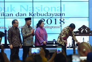 President officially opens Rembuk Nasional at Kemendikbud Training Center (Photo: Humas/Oji)