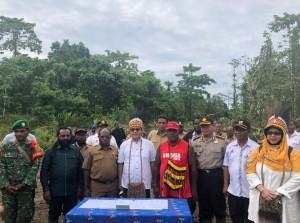 Kementerian PUPR akan membangun rumah khusus bagi para tenaga medis di Kampung Holtekamp, Distrik Muara Tami, Kota Jayapura. (Foto: Kementerian PUPR)