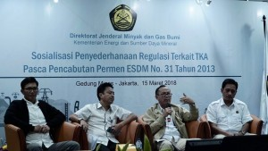 Dissemination of Regulatory Simplification in the Ministry of Energy and Mineral Resources