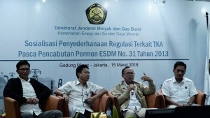 Sosialisasi Penyederhanaan Regulasi di Kementerian ESDM