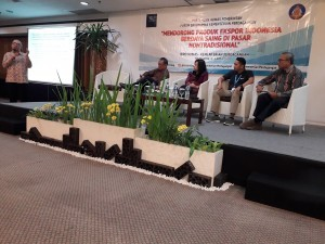 Thematic forum event of the Coordinating Agency for Community Relations (Bakohumas) at Santika Premiere Hotel, Yogyakarta, Thursday (5/4). (Photo by: Edi/Public Relations Division of Cabinet Secretariat).