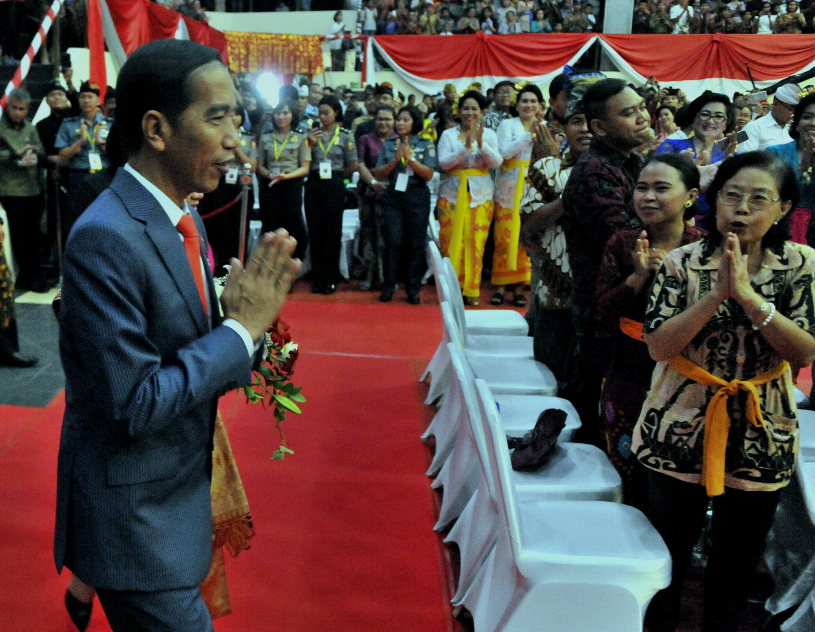 Jika Bisa Tetap Bersatu Presiden Jokowi: Bangsa Kita Akan Tetap Berdiri Kokoh