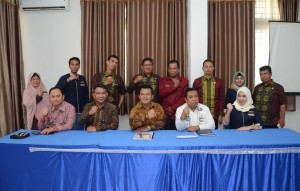 Human Relations and Protocol of Cabinet Secretariat was received by Regional Office of Communication and Information, Kendari