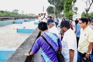 Menteri PUPR Tinjau Venue Asian Games