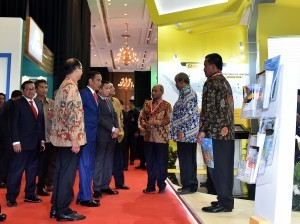 President Jokowi attends the 42nd Indonesia Petroleum Association (IPA) Convention and Exhibition, at JCC, Jakarta, Wednesday (2/5). (Photo: PR/Agung)