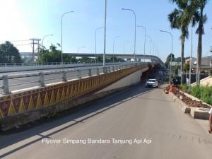 Flyover atau jalan layang yang dibuka untuk memperlancar arus mudik di Palembang (Foto: Kementerian PUPR)