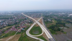Tol Medan-Kualanamu-Tebing Tinggi yang dibuka fungsional untuk Mudik Lebaran 2018. (Foto: Kementerian PUPR).