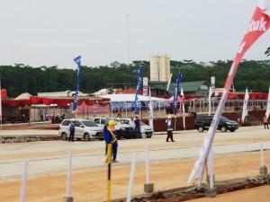 Tempat peristirahatan sementara untuk pemudik arus balik. (Foto: Kementerian PUPR).