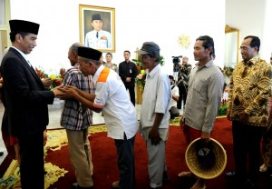 Presiden Jokowi Menggelar Open House di Istana Kepresidenan Bogor, Jumat (15/6) pagi. (Foto: BPMI)