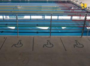 Salah satu venue Asian Games yang dilengkapi untuk penyandang disabilitas. (Foto: Kementerian PUPR)